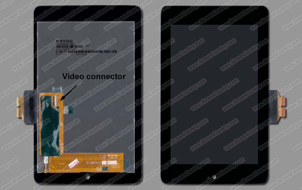 Google Nexus 7 1b019a Tablet Laptop Screen Replacement 1349