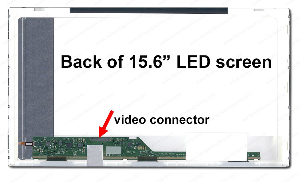 "15.6/"" 1366x768 LED Screen for TOSHIBA SATELLITE C855D-S5303 LCD Laptop"